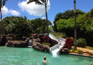 poipu-club-pool-slide